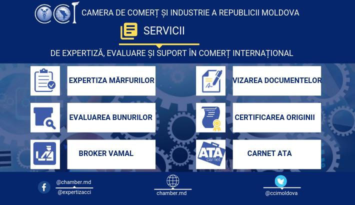 Mediul de afaceri va beneficia de noi servicii oferite de experții Camerei de Comerț și Industrie