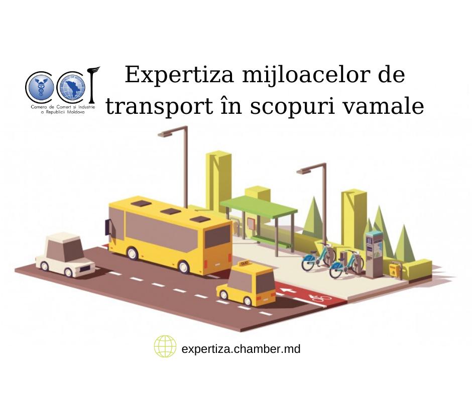 Expertiza mijloacelor de transport în scopuri vamale